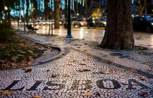Pavement on Liberdade Avenue, Lisboa, By Tiago Fernandez